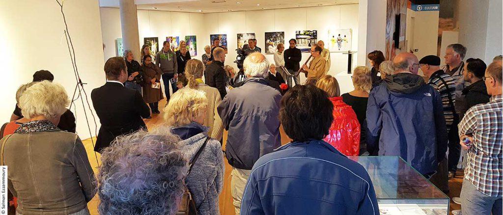 Salman Ezzammoury expositie