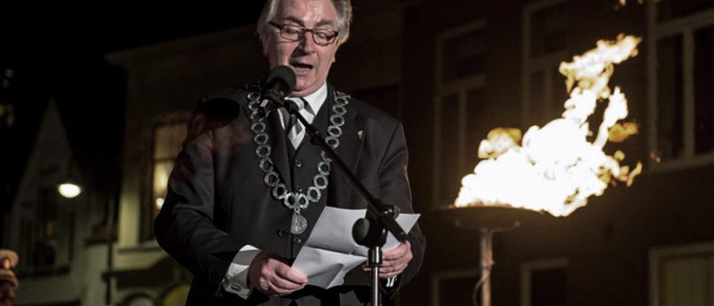 De speech van burgemeester Geert van Rumund Wageningen