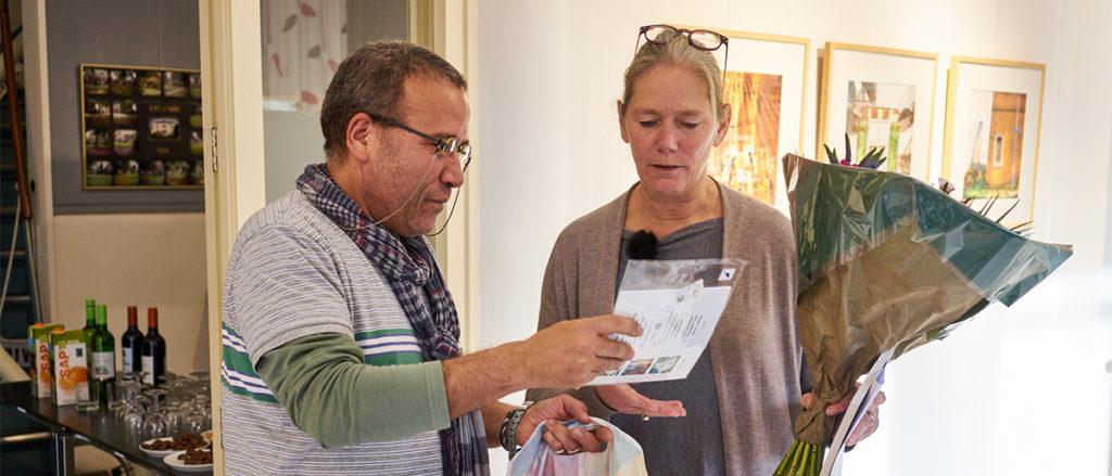 Elise Huijberts van De kunstfactorij