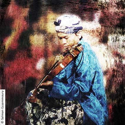 Violinist from Java