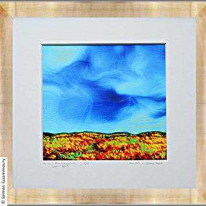 Heuvels en Blauwe Lucht