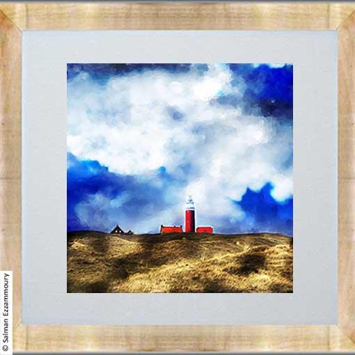 Rode Vuurtoren - Texel