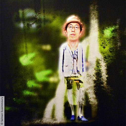Kazuki in the Forest