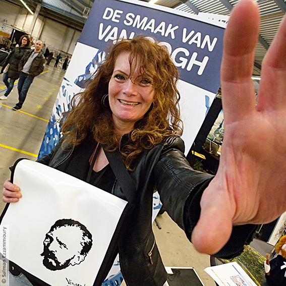 Selfie met Van Gogh