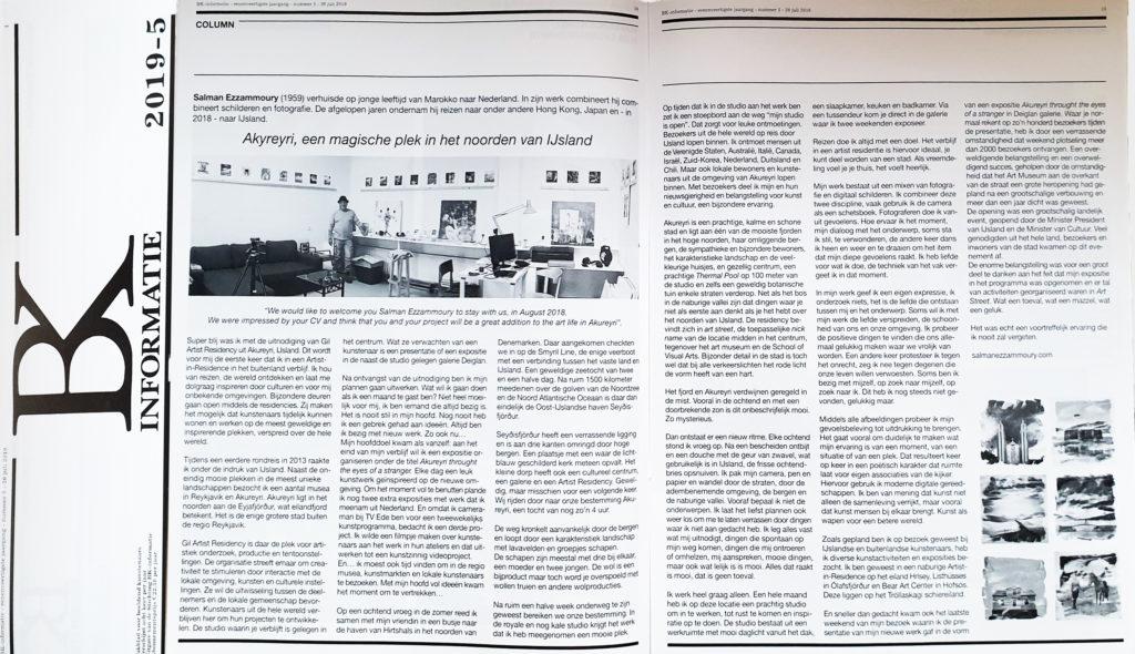 BK-informatie | Vakblad voor beeldend kunstenaars