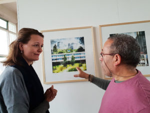 Met Hester Veltman Wethouder Kunst en Cultuur Gemeente Ede