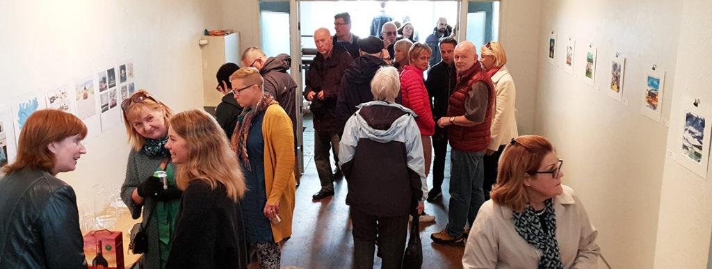 Expo. Salman Ezzammoury Akureyri Iceland