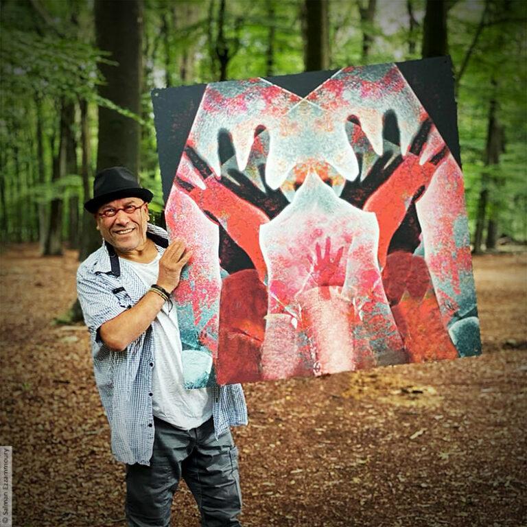 Artist Salman Ezzammoury