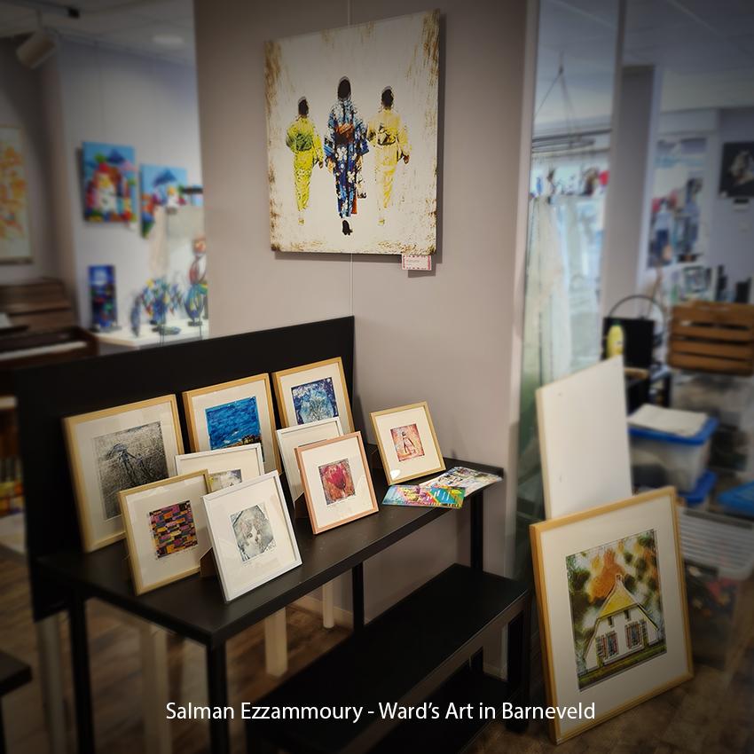 Salman Ezzammoury - Ward's Art in Barneveld