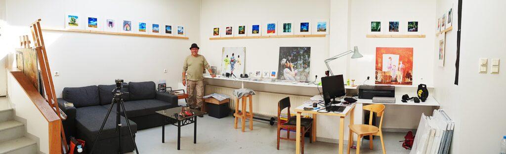Salman Ezzammoury - Artist in Residence Iceland