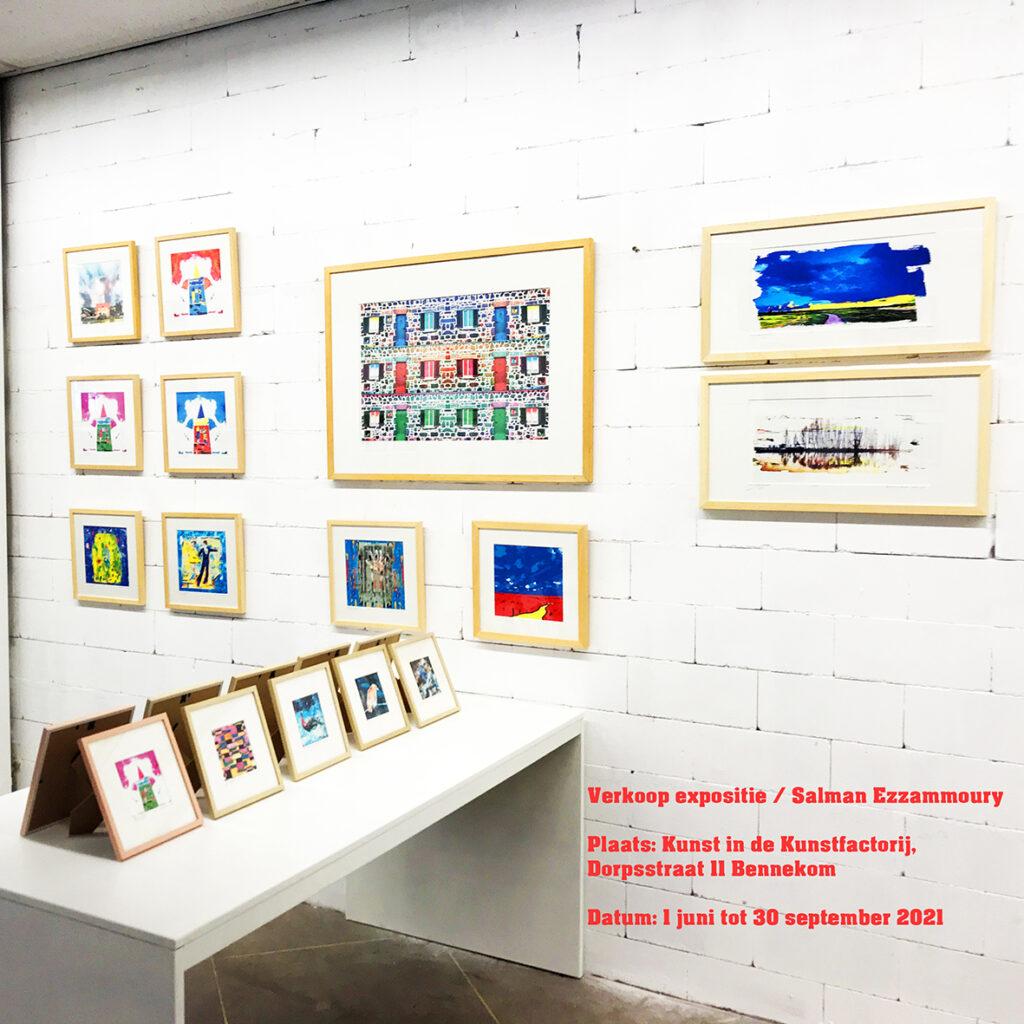 Verkoop expositie - Kunstfactorij - Bennekom