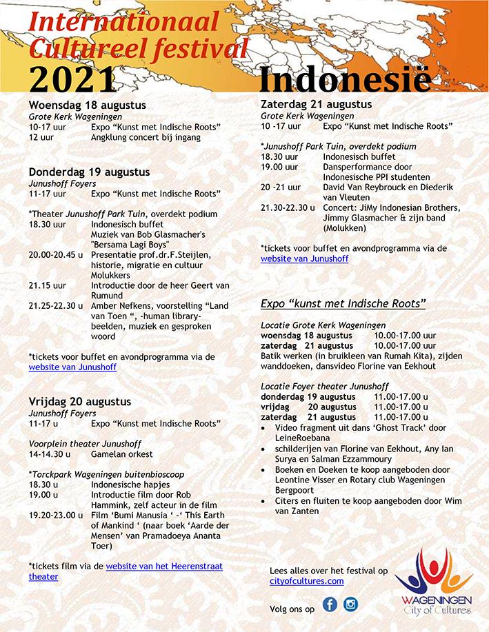 Internationaal Festival Indonesie2021