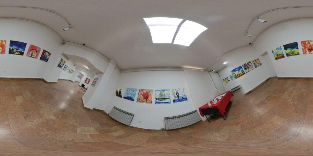 Expo. Salman Ezzammoury in AK Gallery - Sarajevo